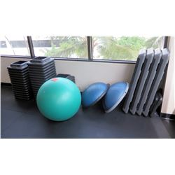 Aerobic Platforms & Risers, Exercise Ball and Balance Trainers