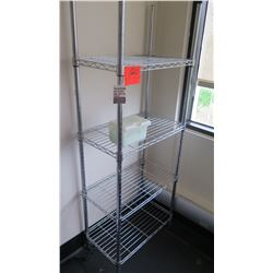 Tall Wire Shelving Unit