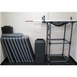Aerobic Platforms & Risers with Rack