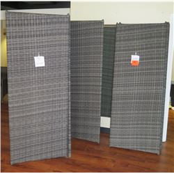 Qty 3 Dividers 30x78 (each has 3 panels)