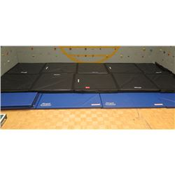 Black & Blue Padded Mats (Used at Base of Climbing Wall)