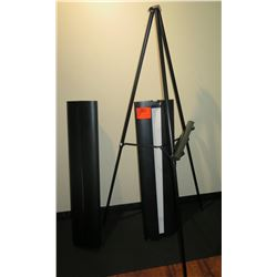 Qty 2 Projection Screens & 1 Tripod