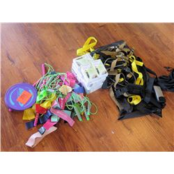 Resistance Bands, Jump Ropes, and Misc Straps