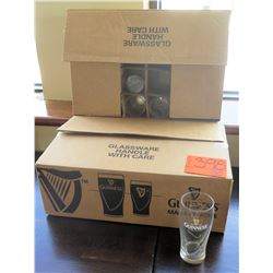 Guiness Beer Glasses (see pictures for approx. count)