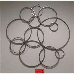 Interwoven Rings Wall Art