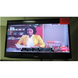 Samsung Wall-Mount TV, Model UN32EH5300F (does not include wall-mount or electrical power cord)