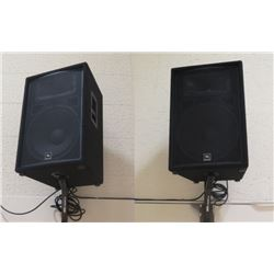 Qty 2 JBL Speakers (no wall-mounts)