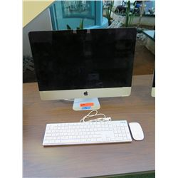 "Apple iMac 21.5"" 2.7GHz, 8GB PC3-12800, 1TB 5400RPM HDD, MacOS 10.15"