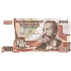 Oesterreichische Nationalbank. 1985. Issued Note.