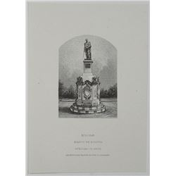 "ABN Proof Vignette ""Bolivar, Banco de Bogota"" Used on 1919 Cedula Hipotecaria Issue Series."