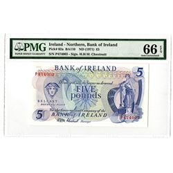 Ireland. Northern, Bank of Ireland, ND (1971) Issued Banknote