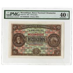 Banco Nacional Ultramarino. 1941. Issued Note.