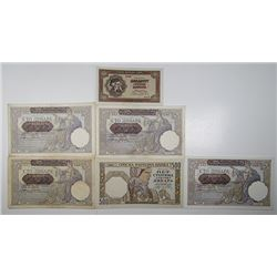 Serbian National Bank. 1941-1942. Lot of 11 Issued Notes.