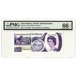St. Helena. Government of St. Helena, 1979 Issued Banknote