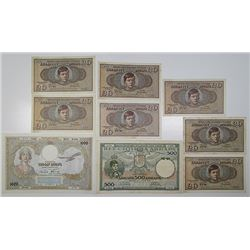 Various Serbian, Yugoslavian, Croatian, and Slovenian Issuers. 1920-1993. Lot of 54 Issued Notes.