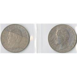 Germany, Bavaria 1909D & 1910D, 3 Mark, Silver, KM#996, VF - XF Pair.