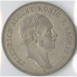 Germany, Saxony 1907E, 5 Mark, Silver, KM#1266, Choice VF-XF.