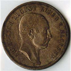 Germany, Saxony-Albertine, 1908E, 3 Mark, Silver, KM#1267, VF
