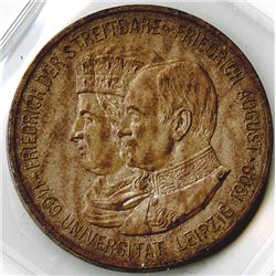 Germany, Saxony-Albertine, 1909, 5 Mark, Silver, KM#1269, XF to Almost Uncirculated.