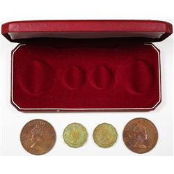 Bailiwick of Jersey, 1964 Proof Set of 4 Coins, KM#-PS3.