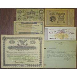 Pharmaceutical Ephemera Assortment, ca.1870 to 1960