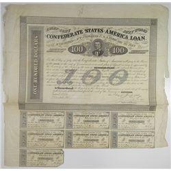 Confederate States of America 1863, Act of February 20, 1863 I/U Bond