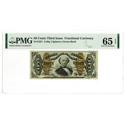 U.S. Fractional Currency, 50 Cents, Third Issue, Fr#1331.
