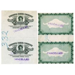 Parsons Paper Co., Bank-Note Parchment Bond, ND ca.1910-30 Plate Destruction Package Advertising Lab