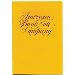 American Bank Note Co., ND (ca.1970's) Advertising Offerings Booklet