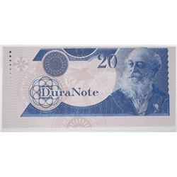 DuraNote 20 Units ca. 1980-90s Test Note