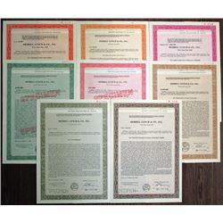 Merrill Lynch & Co., Inc. ND ca.1986-1989 Registered Bond Octet