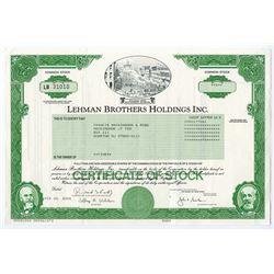 Lehman Brothers Holdings Inc., 2005 I/U Stock Certificate.