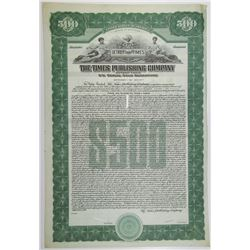 Times Publishing Co., Detroit Times 1928 Specimen Bond