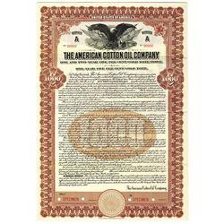 American Cotton Oil Co., 1917 Specimen Bond - Original DOW Company.