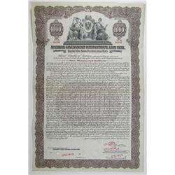 Austrian Government International Loan of 1930 Specimen Bond