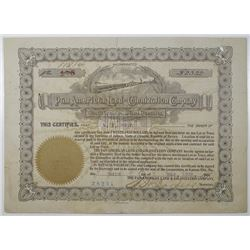 Pan American Land and Colonization Co. 1905 Bond