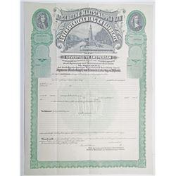 Algemeene Maatschappij van Levensverzekering en Lijfrente Bond, ca.1900-1920.