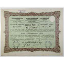 Dutch Land Credit Bank, 1904 I/U Bond
