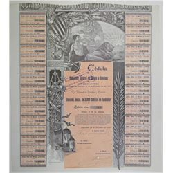 Compania General de Minas y Sondeos 1901 I/C Bond