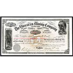 Santa Elena Mining Co., 1886 I/U Stock Certificate.