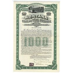 Montana Coal & Coke Co., 1900 $1,000 I/U Gold Bond