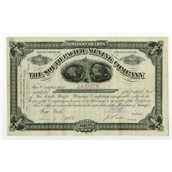 South Pacific Mining Co. 1882 Stock Certificate