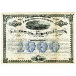 Rockaway Beach Improvement Co., 1880 Specimen Bond