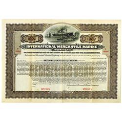 International Mercantile Marine Co., 1902 Specimen Bond