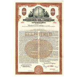 Standard Oil Co. 1949 Specimen Bond