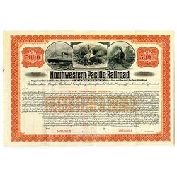 Northwestern Pacific Railroad Co. 1907 Specimen Bond
