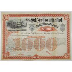 New York, New Haven and Hartford Railroad Co., ND (ca.1880-90's) Specimen Bond Rarity
