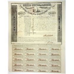 Pennsylvania Section of the Erie & Cleveland Rail Road, 1851 I/C Bond