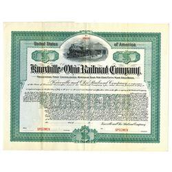 Knoxville and Ohio Railroad Co., ca.1900-1910 Specimen Bond