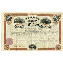 State of Louisiana 1871 Bond